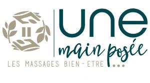 Une main posée, massages bien-être Bordeaux Pessac